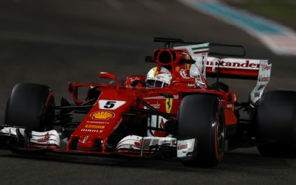 F1, Ferrari ad Abu Dhabi per chiudere in bellezza