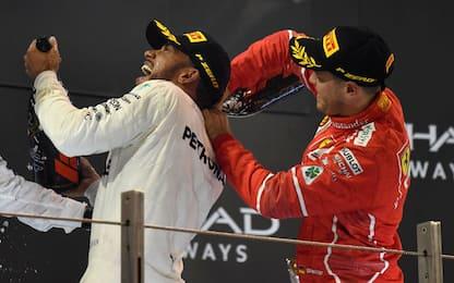 """Vettel: """"Spiace dirlo, Lewis è stato il migliore"""""""