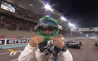 """Massa, addio F1: """"Lacrime finite, grazie a tutti"""""""