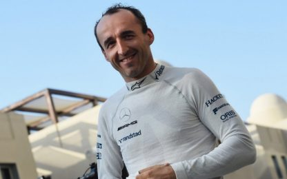 Test Abu Dhabi: 1° Kimi, esordio ok per Kubica