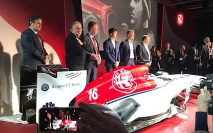 Alfa con Leclerc ed Ericsson, Giovinazzi 3° pilota