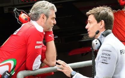 """Wolff sta con la Ferrari: """"Non provocatela"""""""