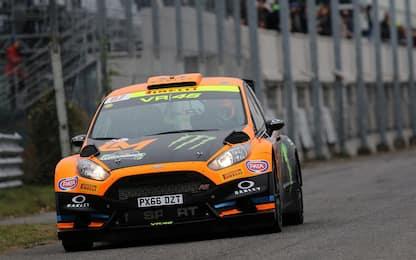 Monza Rally, Valentino Rossi è al comando