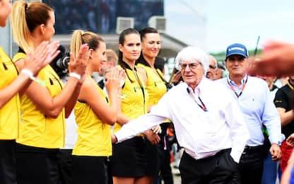 """F1 senza ombrelline, Ecclestone: """"Ma perché?"""""""