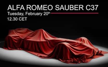 Alfa-Sauber C37, gli orari del live su Sky