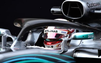 Test, Day-4: Hamilton il più veloce, Vettel terzo
