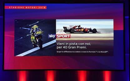 F1 e MotoGP su Sky: vieni in pista con noi