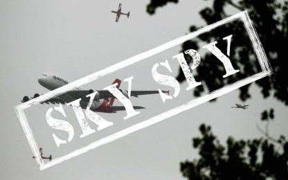 SkySpy, GP Australia e pettegolezzi ad alta quota
