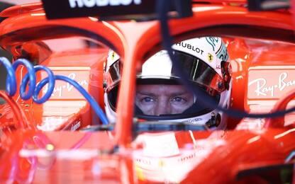 """Vettel 5°: """"Magari aggiungeremo una G a Loria"""""""