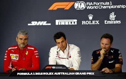 Ferrari-Red Bull, prime scintille in conferenza
