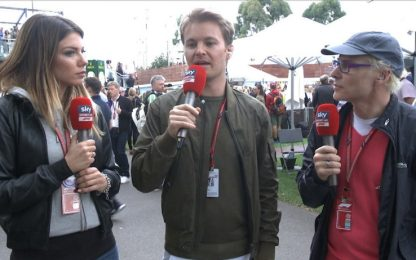"Rosberg a Sky: ""So come si ferma Lewis Hamilton"""