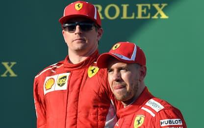 """Raikkonen: """"Solo venerdì"""". Vettel: """"Buon feeling"""""""