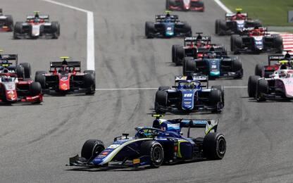 A Norris la prima gara di F2 della stagione