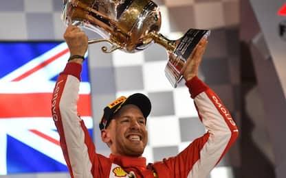 """Vettel: """"Il bis è una sensazione bellissima"""""""