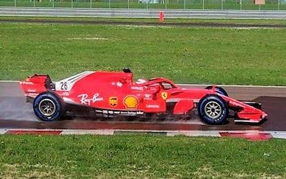 Ferrari, test Pirelli: Kvyat gira a Fiorano