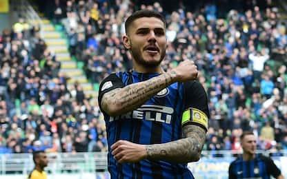"""Icardi: """"L'Inter è casa mia, spero di restare qui"""""""