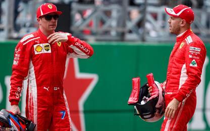 """Vettel: """"Ricciardo-Ferrari? Non posso aiutarlo"""""""