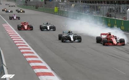 Vettel, il momento decisivo: sorpasso mancato
