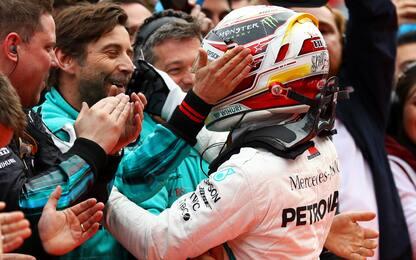 Baku, GP pazzo: vince Hamilton, Kimi 2°, Vettel 4°