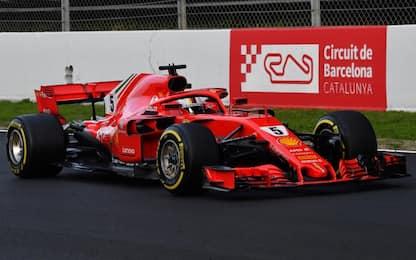 Ferrari o Mercedes, chi è favorita in Catalogna?