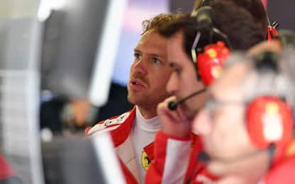 """Vettel: """"Nuove gomme? Favoriscono la Mercedes"""""""