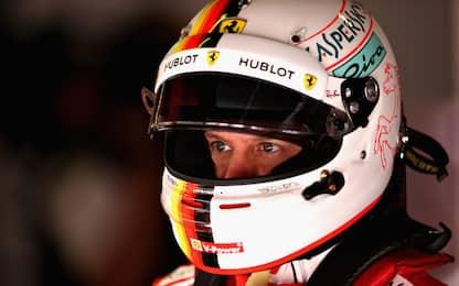 """Vettel: """"Le gomme non duravano come per altri"""""""