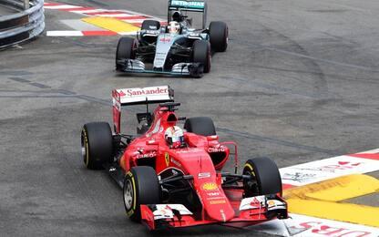 A Monaco Vettel e Hamilton partono alla pari