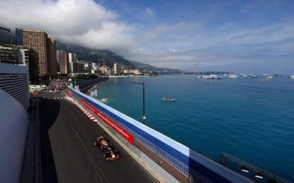 La griglia di partenza del GP di Monaco