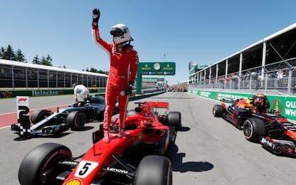 Vettel da record, ecco come ha battuto la Mercedes