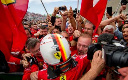 Speciale Vettel 50 vittorie: ore 18.00, canale 207