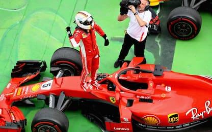 Canada, assolo Vettel: vince e torna leader