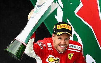 """Seb si gode la Ferrari: """"Siamo stati perfetti"""""""