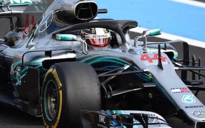 """Hamilton: """"E' stato il mio miglior GP di Francia"""""""