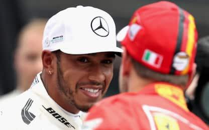 Mercedes cattiva e veloce, ma Vettel è vicino