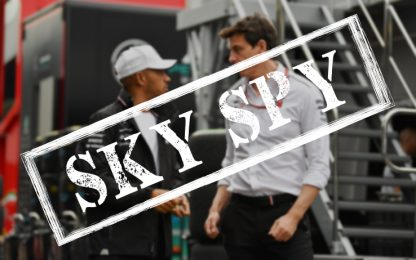 "Sky Spy: ""Per la Mercedes è allarme strategia?"""