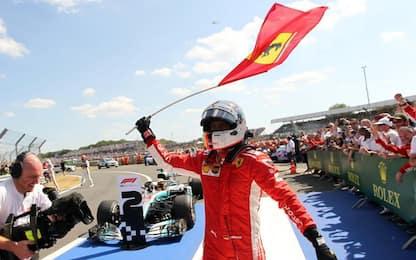 Silverstone, trionfa Vettel. 2° Hamilton, 3° Kimi