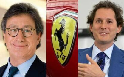 Camilleri-Elkann, i profili dei vertici Ferrari