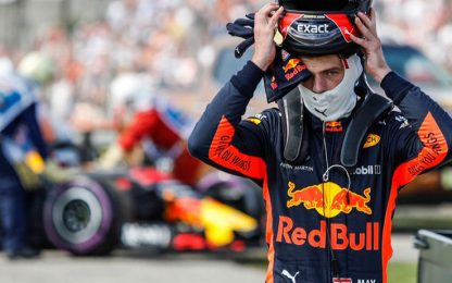Ritiro Verstappen, rabbia e sfogo nel team radio