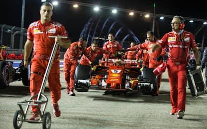 Perché a Singapore la Ferrari può recuperare