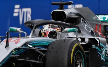 Bottas si scansa, vince Hamilton. Vettel 3°