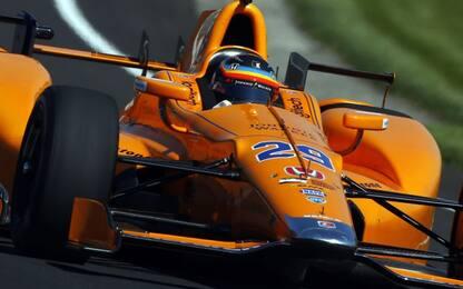 Alonso fa il bis: ancora la 500 Miglia con McLaren