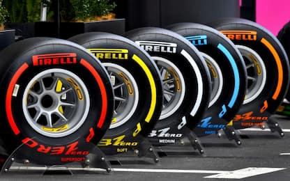 F1-Pirelli, esteso l'accordo fino al 2023