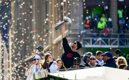 Patriots, festa grande a Boston per il Super Bowl
