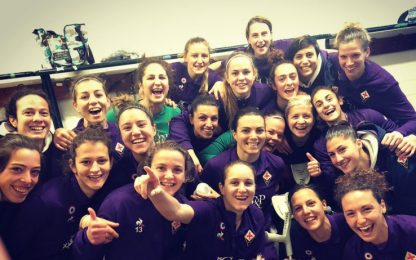 Fiorentina-Pink Bari 8-0, viola a -3 dalla Juve