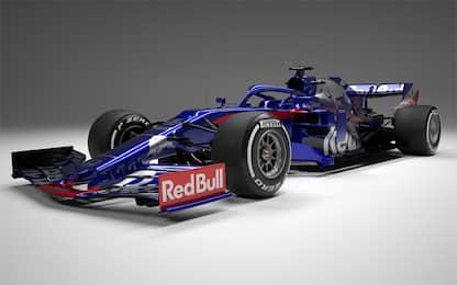 Toro Rosso, la STR14 di Kvyat e Albon