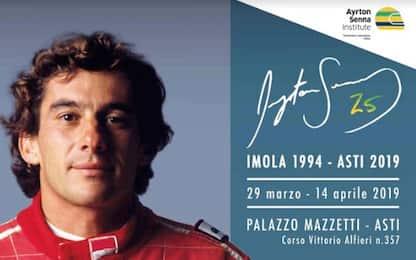 """""""Ayrton Senna 25"""", la mostra dedicata al mito"""