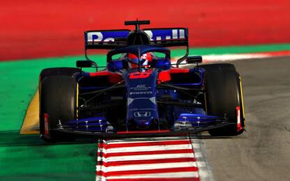 Fulmine Kvyat, primo nel Day-3 dei test. Vettel 4°