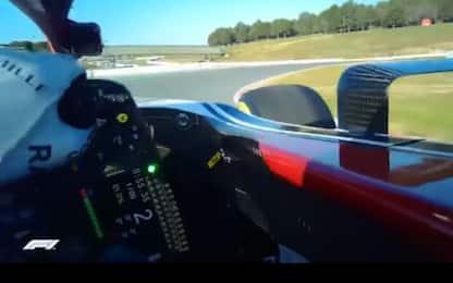 Visor Cam: negli occhi del pilota di F1 VIDEO