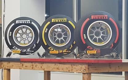 Pirelli, tutto sulle gomme del Mondiale 2019