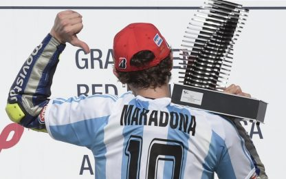 MotoGP, nessuno è come Rossi in Argentina